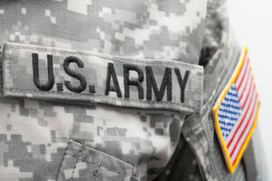 napis na mundurze - U.S.A Army