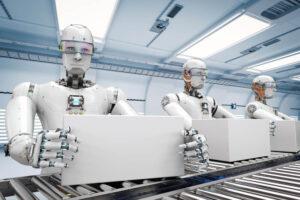 AI, roboty, zawody