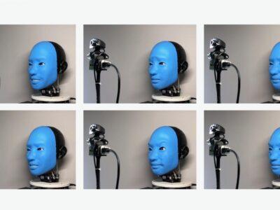 fot. EVA – robot okazujący emocje