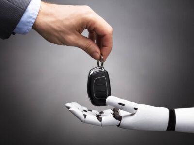 fot. Firmy Ford i Hermes będą testować reakcję ludzi na samochody autonomiczne