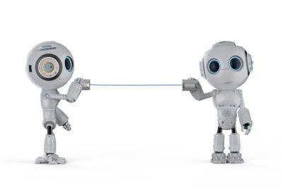 roboty, komunikacja